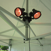 Parasol / partytent heater