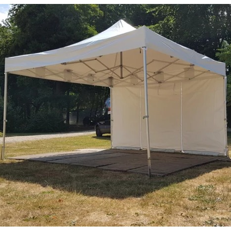 Partytent easy up 4 x 4 wit